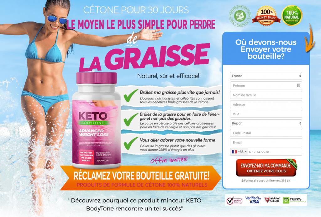 Site officiel de Keto BodyTone France